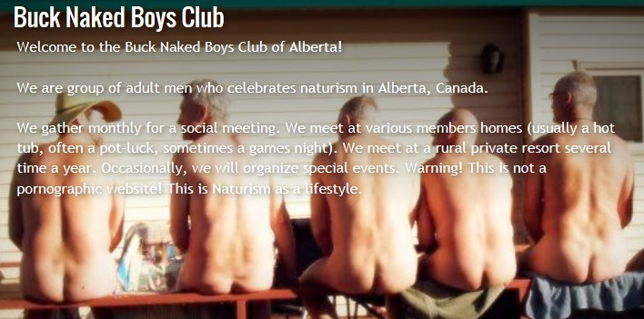 Buck Naked Boys Club